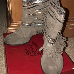 Naughty Monkey Boots New in Box!!